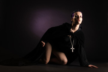 sündige Nonne