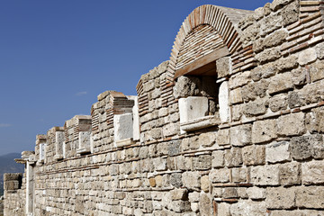 Laodikya Ancient City in Denizli, Turkey