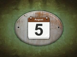 Agosto.