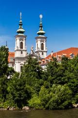 Mariahilfkirche Church in Graz, Styria, Austria