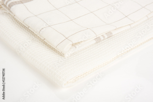 Bright image of kitchen towels
