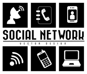 monochrome social network
