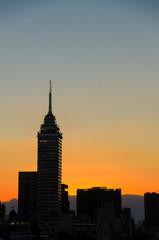 Sunset Cityscape