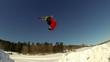 Extreme Skier Does Frontflip