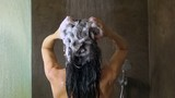 woman washing her hair 60