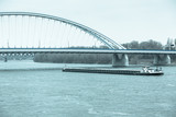 Apollo Bridge over Danube in Bratislava