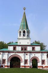 Ансамбль передних ворот государева двора  в Коломенском.