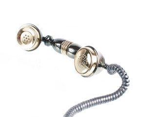 Retro Phone - Vintage Telephone isolated