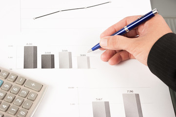 charts and graphs of sales of securities - workplace successful