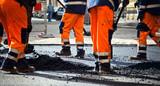 Fototapety Road construction, teamwork
