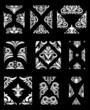 Ornamental Pattern 9 vector Set