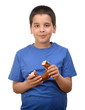 Child Eating Simit