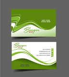 Fototapety Fast Food Business Card