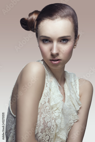 fashion portrait of girl