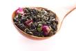 Green tea whit rose