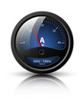 Ammeter icon. Vector illustration