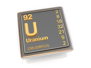 Uranium. Chemical element.