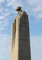 WW1 Canadian Brooding Soldier Memorial St Julien nr Ypres
