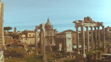 View of the Roman Forum from Capitol Hill