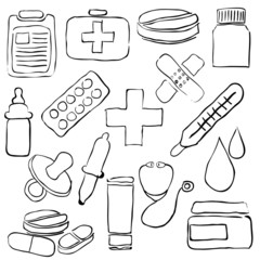 pharmacy sketch images