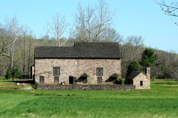 Old stone barn