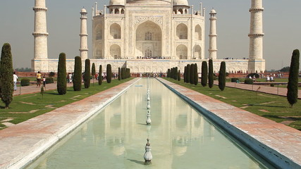 Taj mahal, A monument of love, in India, Agra, Uttar Pradesh