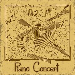 Invitation to piano concert