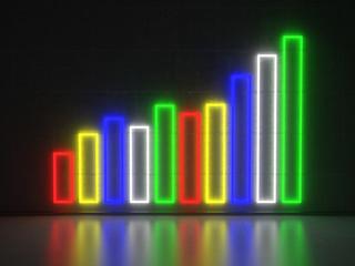 Bar Diagram - Series Neon Signs