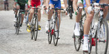 panoramic cycling race