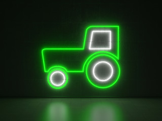 Tractor - Series Neon Signs