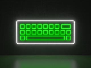 Keyboard - Series Neon Signs
