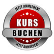 5 Star Button rot KURS BUCHEN JA JA