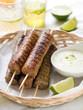 Minced meat kebab