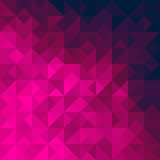 Pink geometric background