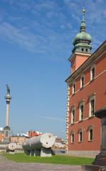 Warsaw old town, Sigmund's Column, Castle Square, Poland