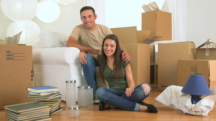 Mexican couple moving in