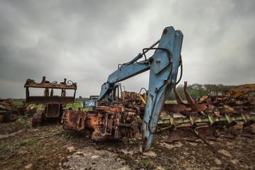scrap excavator