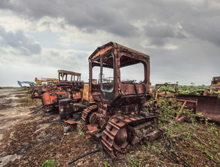 scrap heavy machinery