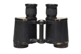 ww2 period binoculars on white background