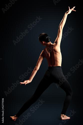 Fototapeten,allein,mädchen,ballet,rücken