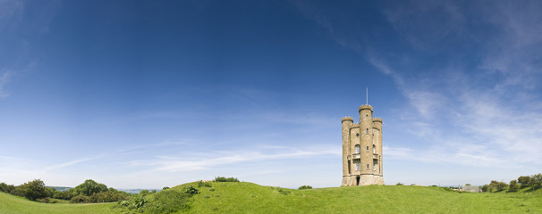 English views, Broadway Tower (1799)