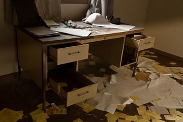 Abandoned Desk