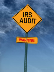 warning irs audit post sign