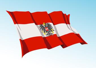 Avusturya  Bayrağı  (versiyon  3 )