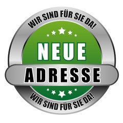 5 Star Button grün NEUE ADRESSE WSFSD WSFSD