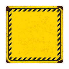 vector warning or safety signs