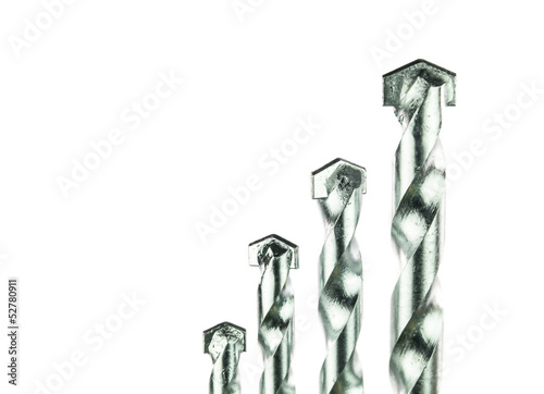 Tungsten carbide tips drill bits