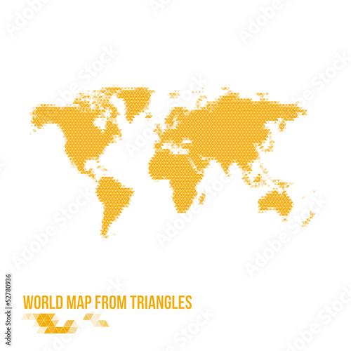 剪影商业国家图形地图