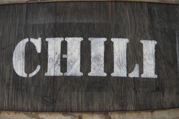 Chili im Fass