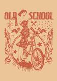 Fototapety Old school